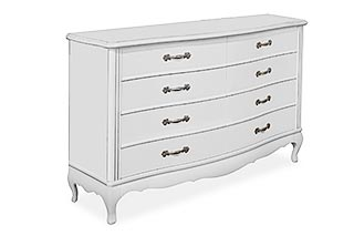 Athena - chest of drawers from solid oak