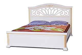 Camellia - double bed made of solid ash